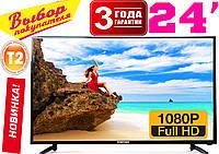 NEW 2021 телевизоры Samsung 24'' DVB T2, USB. Распродажа! Super Slim КОРЕЯ, гарантия 3 года