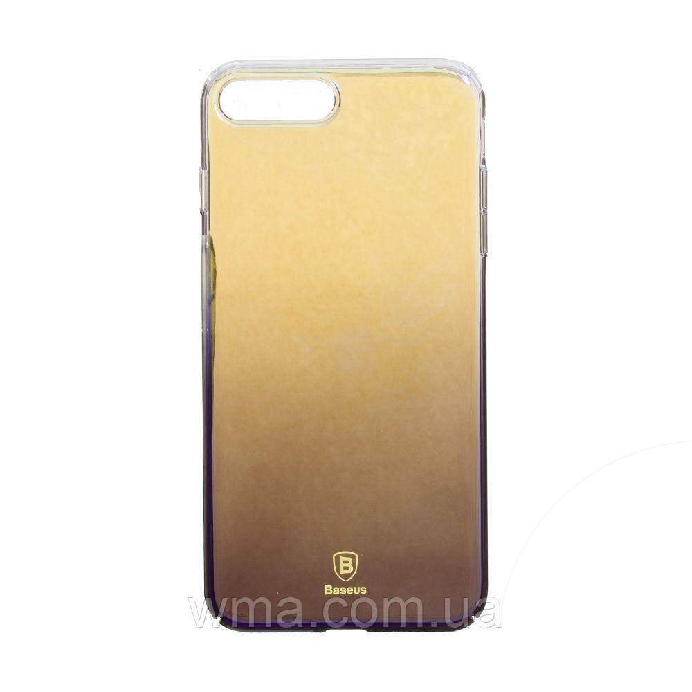Чехол Baseus Iphone 7 Plus WIAPIPH7P-GC Цвет Прозрачно-Чёрный