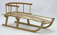 Санки детские «Kimet» деревянные, 100*33*20 см. (бук)