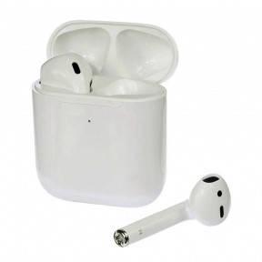 Бездротові Bluetooth-навушники TW-2025 TWS білі, фото 2