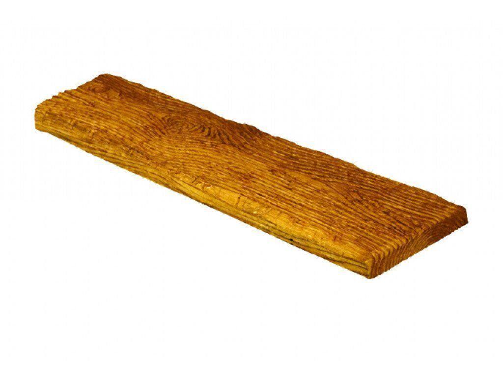 Панель полиуретановая Decowood Рустик ET 305 190х35х3000 мм Светлое дерево