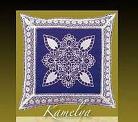 Декоративные наволочки 45х45 1шт. с вышивкой Kayaoglu Kamelya
