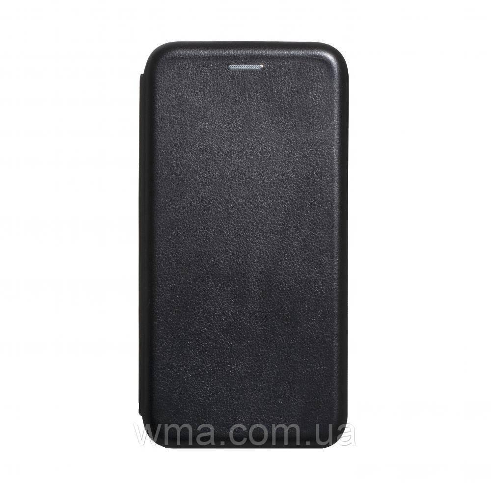 Чохол-книжка шкіра Xiaomi Redmi 8A Колір Чорний