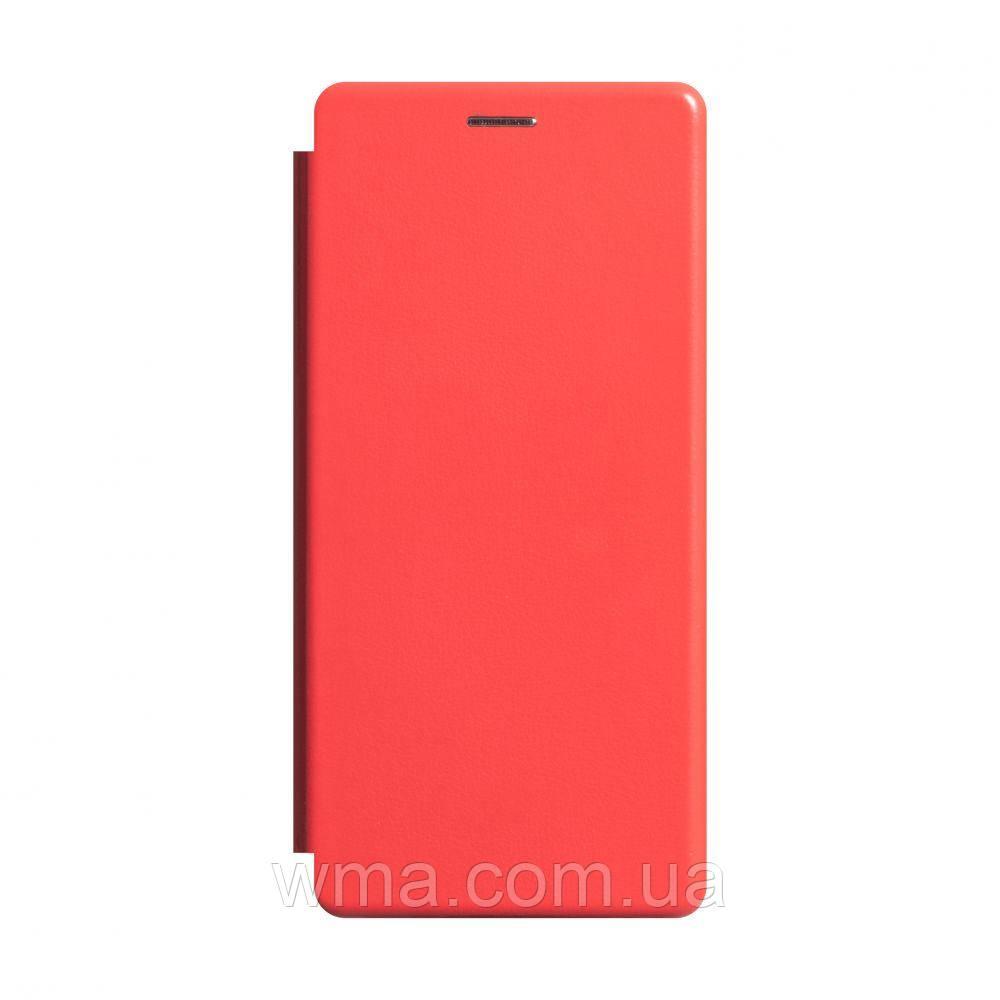 Чохол-книжка шкіра Xiaomi Redmi Note 8 Pro Колір Червоний