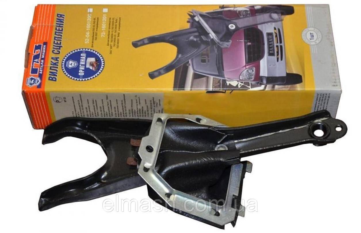 Вилка выключения сцепления ГАЗ 53 с чехлом в сборе <рычаг корзины> (пр-во ГАЗ)