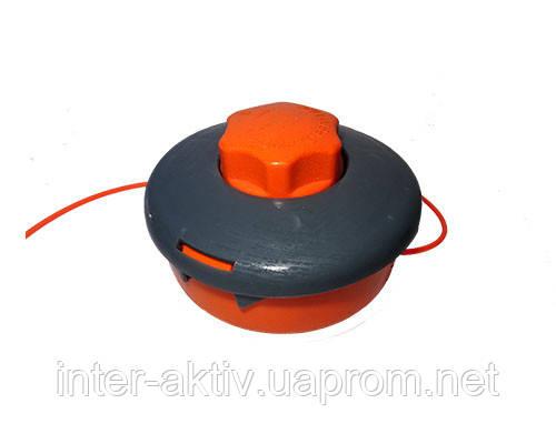 Шпуля серо-оранжевая  для бензокосы