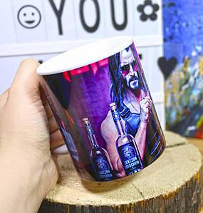 "Чашка Киберпанк 2077 ""Джонни Сильверхенд""/ Cyberpunk 2077"