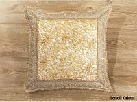 Декоративные наволочки 45х45 1шт. с вышивкой Kayaoglu Laseli