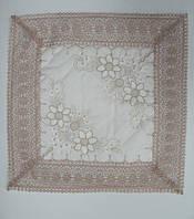 Декоративные наволочки 45х45 1шт. с вышивкой Kayaoglu Lavinya