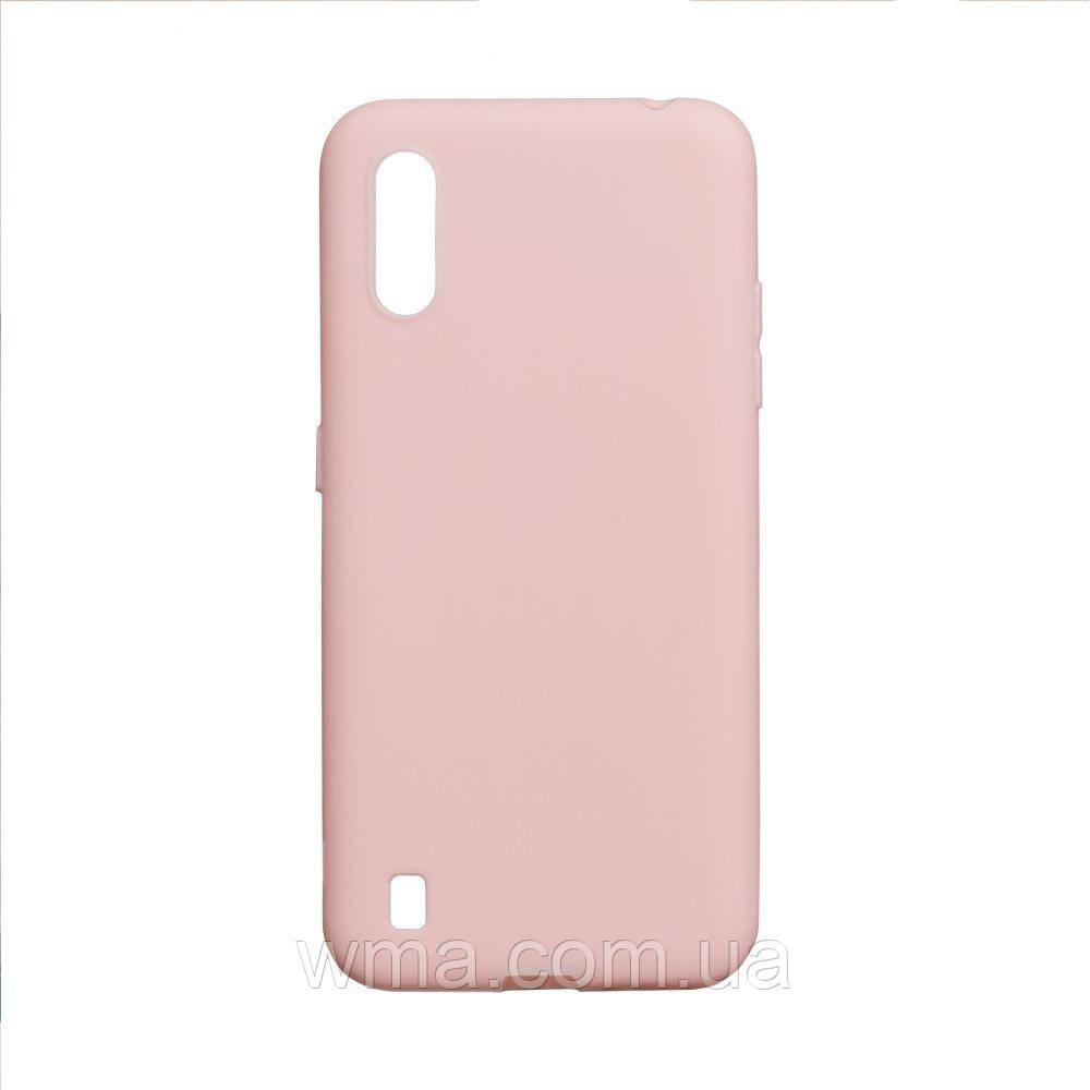 Чехол SMTT Samsung A01 Цвет Розовый