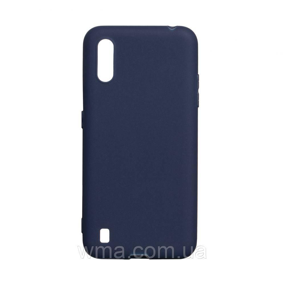 Чехол SMTT Samsung A01 Цвет Синий