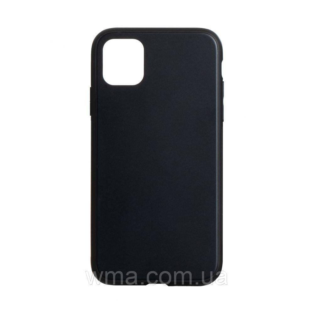 Чехол TPU Matt for Apple Iphone 11 Pro Max Цвет Чёрный