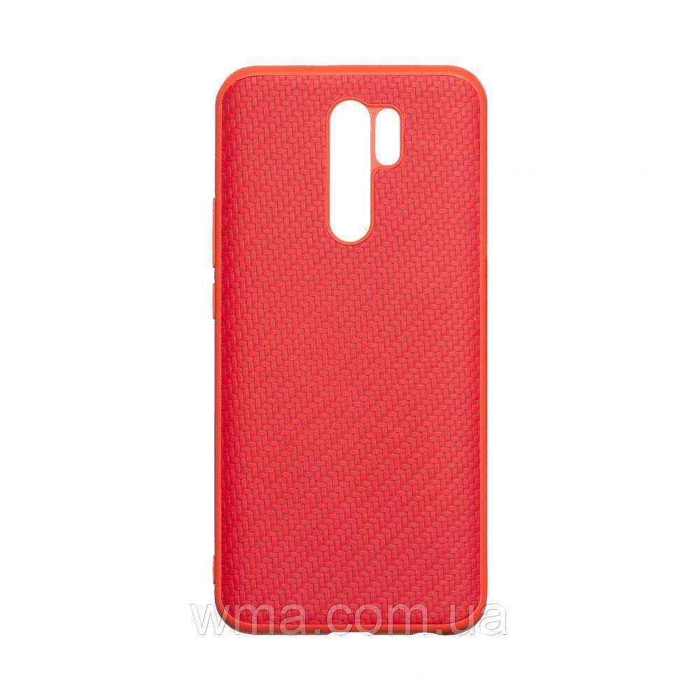 Чохол Carbon for Xiaomi Redmi 9 HQ Колір Червоний