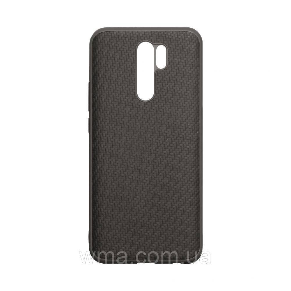 Чехол Carbon for Xiaomi Redmi 9 HQ Цвет Чёрный