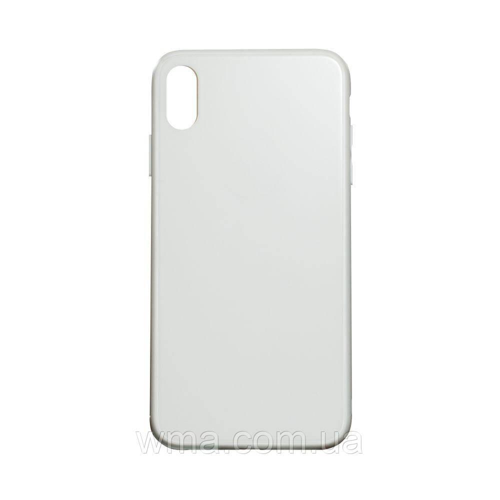 Чехол TPU Matt for Apple Iphone Xs Max Цвет Белый