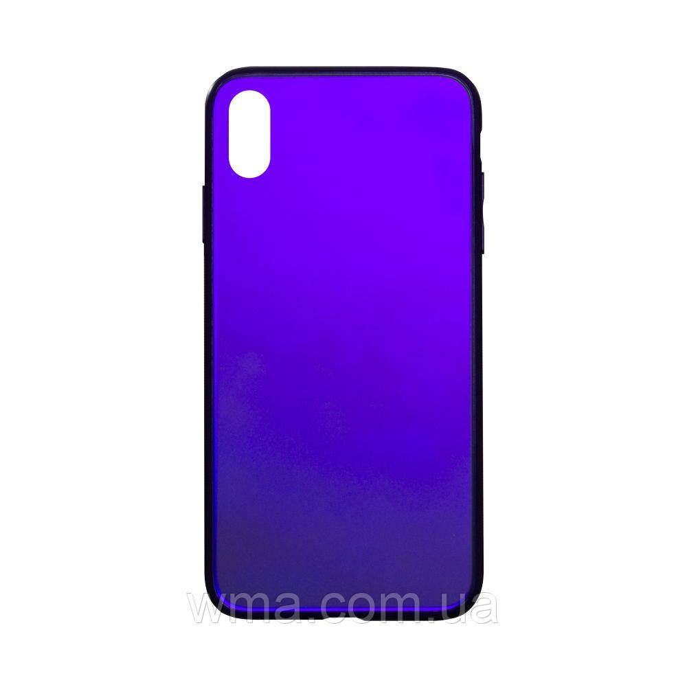 Чехол TPU Matt for Apple Iphone Xs Max Цвет Фиолетовый