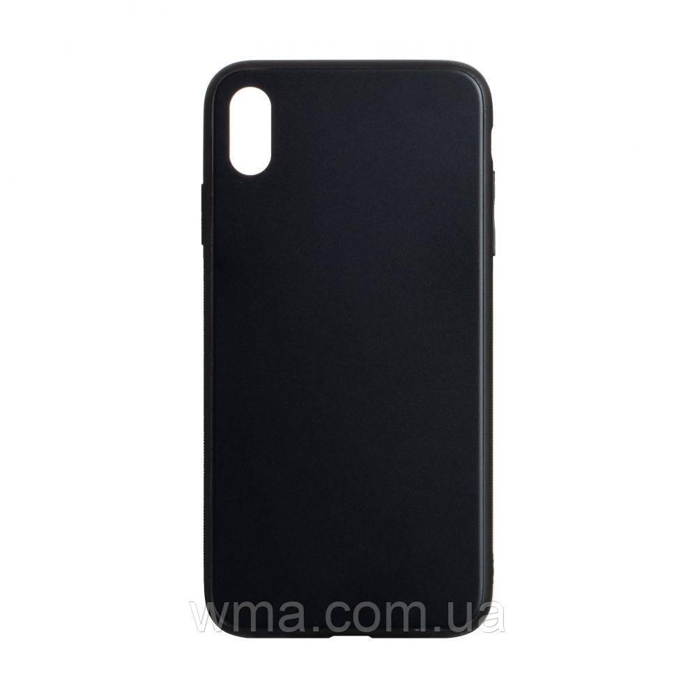 Чехол TPU Matt for Apple Iphone Xs Max Цвет Чёрный