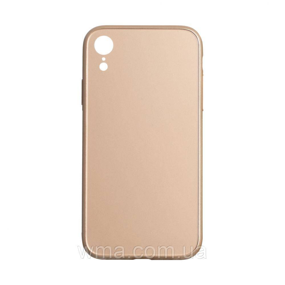 Чохол TPU Matt for Apple Iphone Xr Колір Золотий