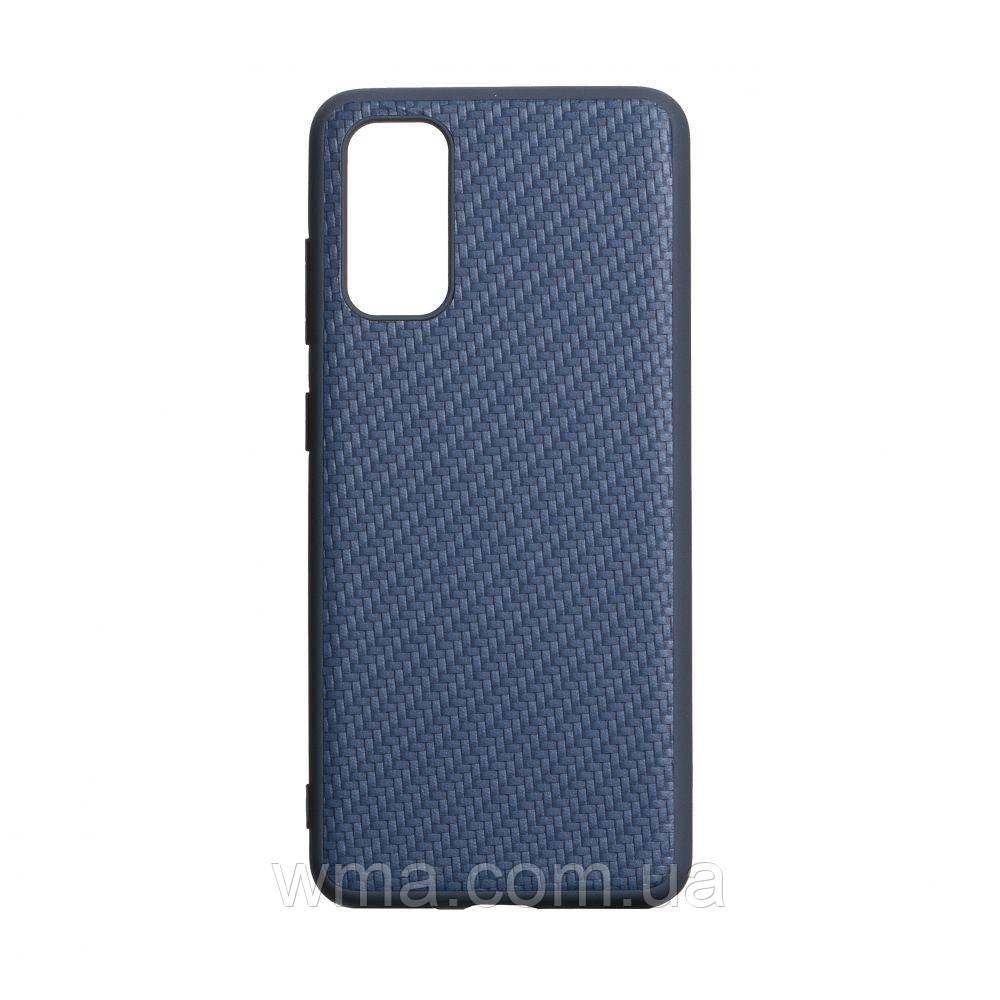 Чехол Carbon for Samsung S20 2020 HQ Цвет Синий