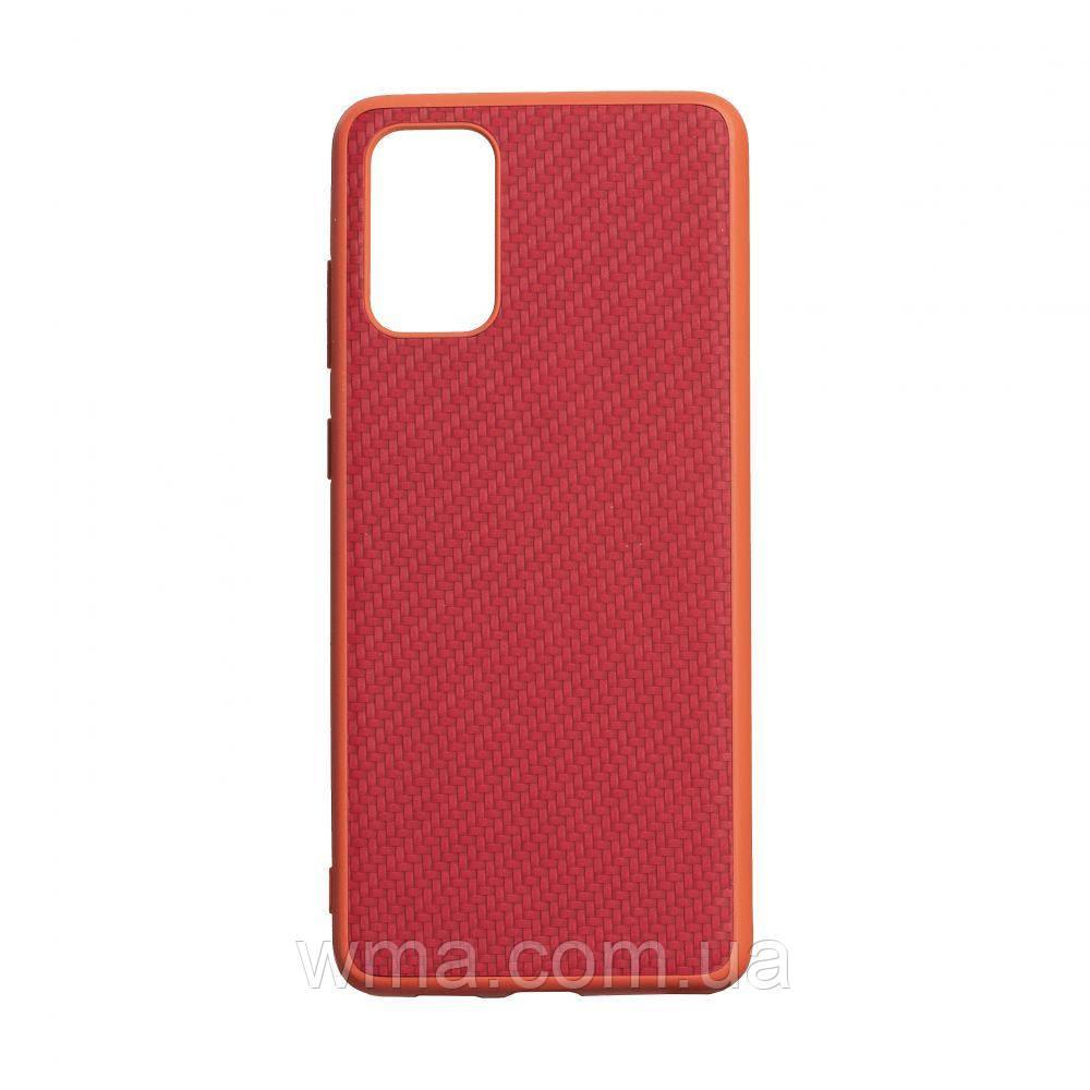 Чохол Carbon for Samsung S20 Plus 2020 HQ Колір Червоний