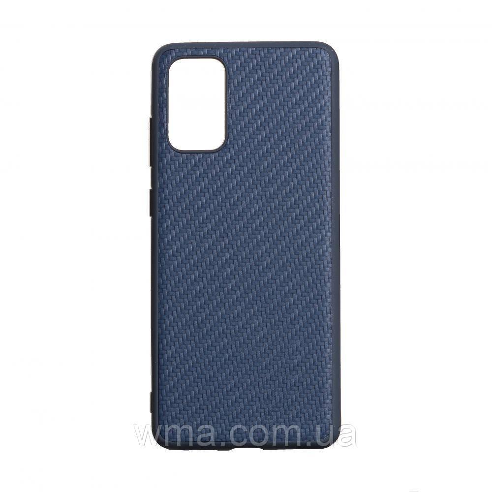 Чехол Carbon for Samsung S20 Plus 2020 HQ Цвет Синий