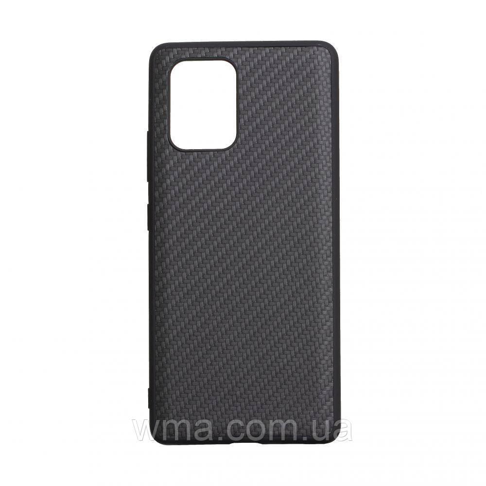 Чехол Carbon for Samsung S10 Lite 2020 HQ Цвет Чёрный