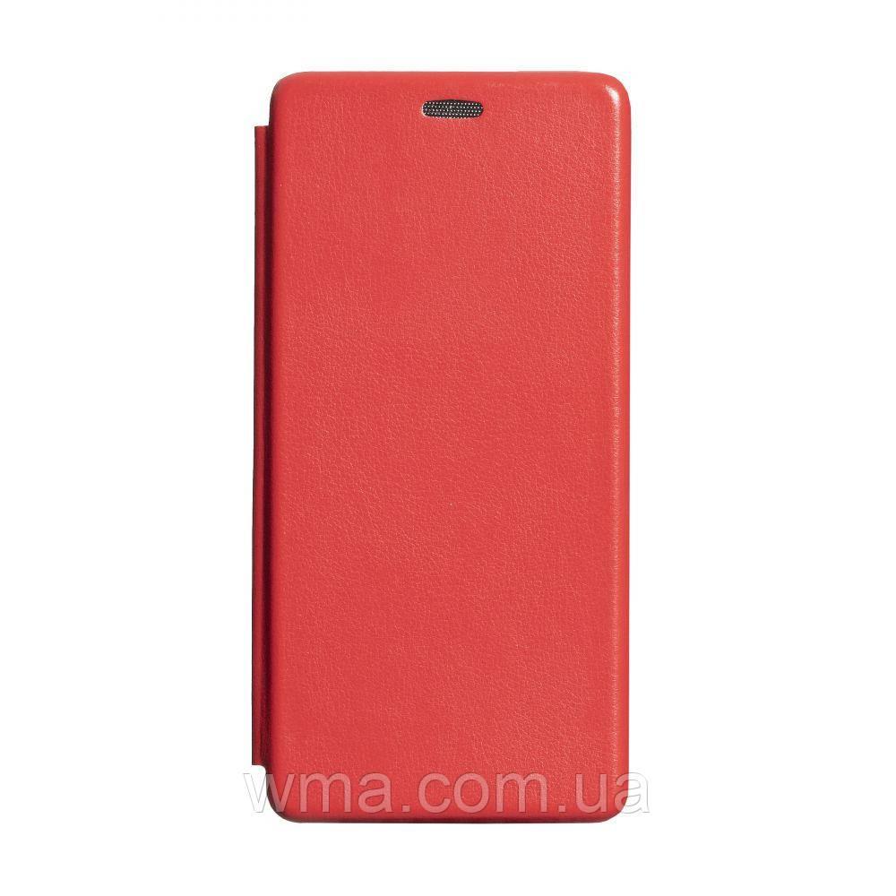 Чохол-книжка шкіра Samsung S20 Plus 2020 Колір Червоний