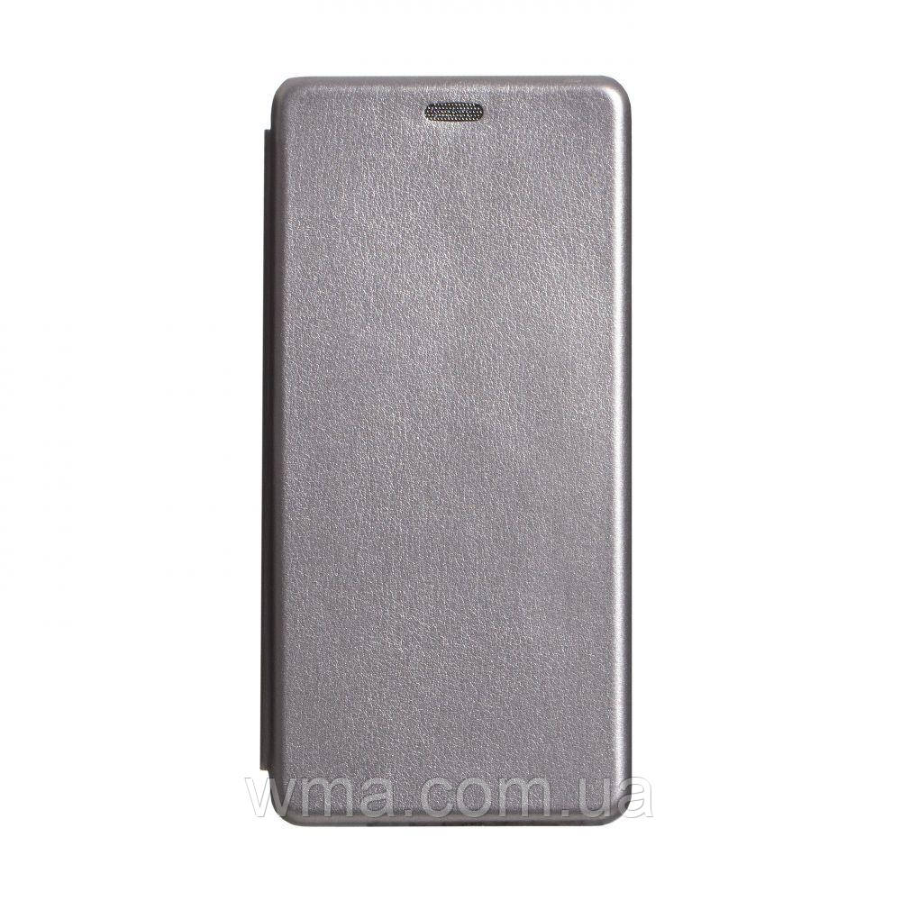Чохол-книжка шкіра Samsung S20 Plus 2020 Колір Сірий