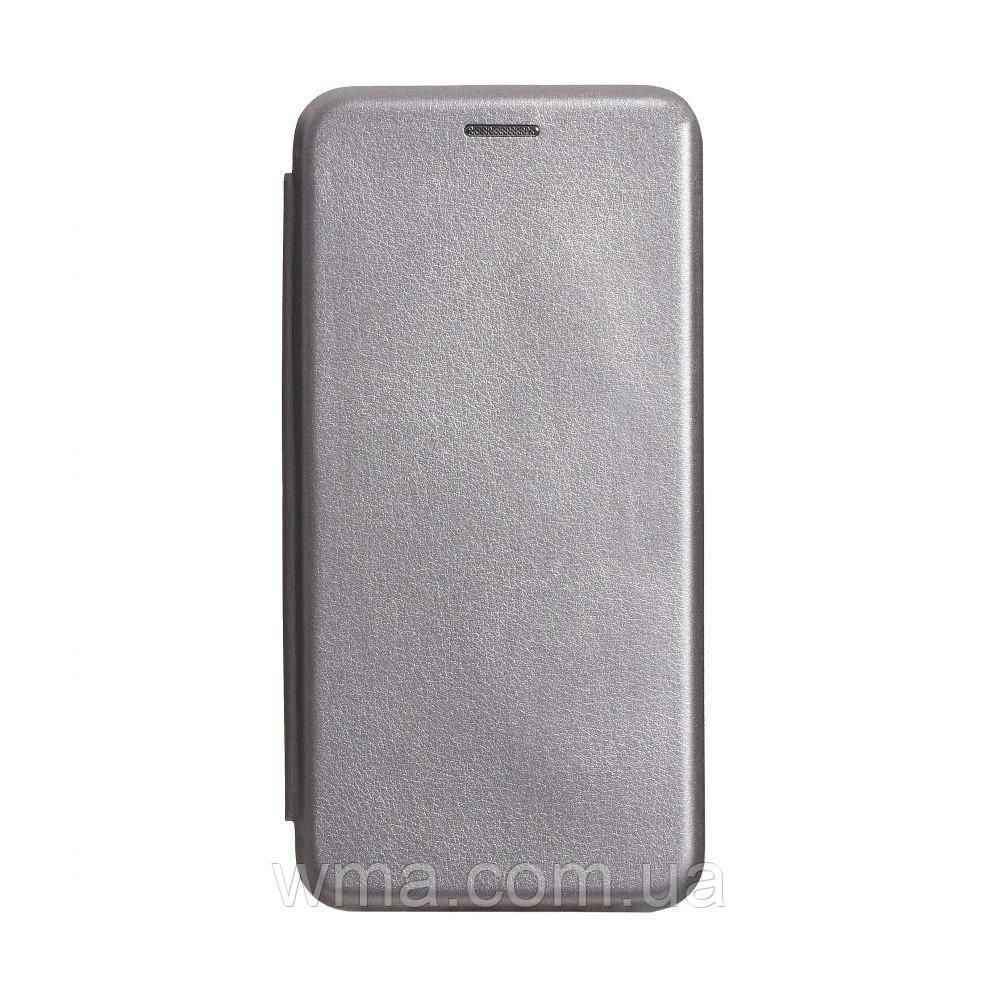Чохол-книжка шкіра Samsung S20 2020 Колір Сірий