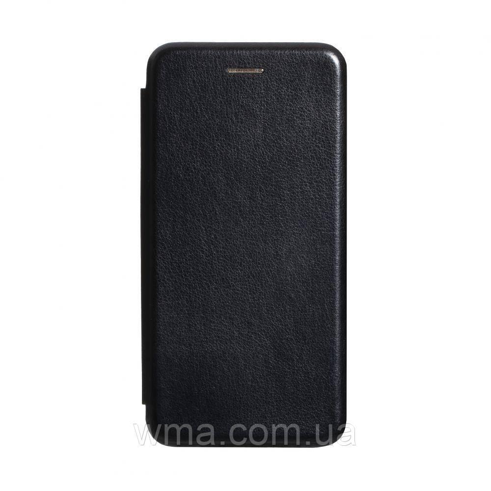 Чехол-книжка кожа Samsung S20 2020 Цвет Чёрный