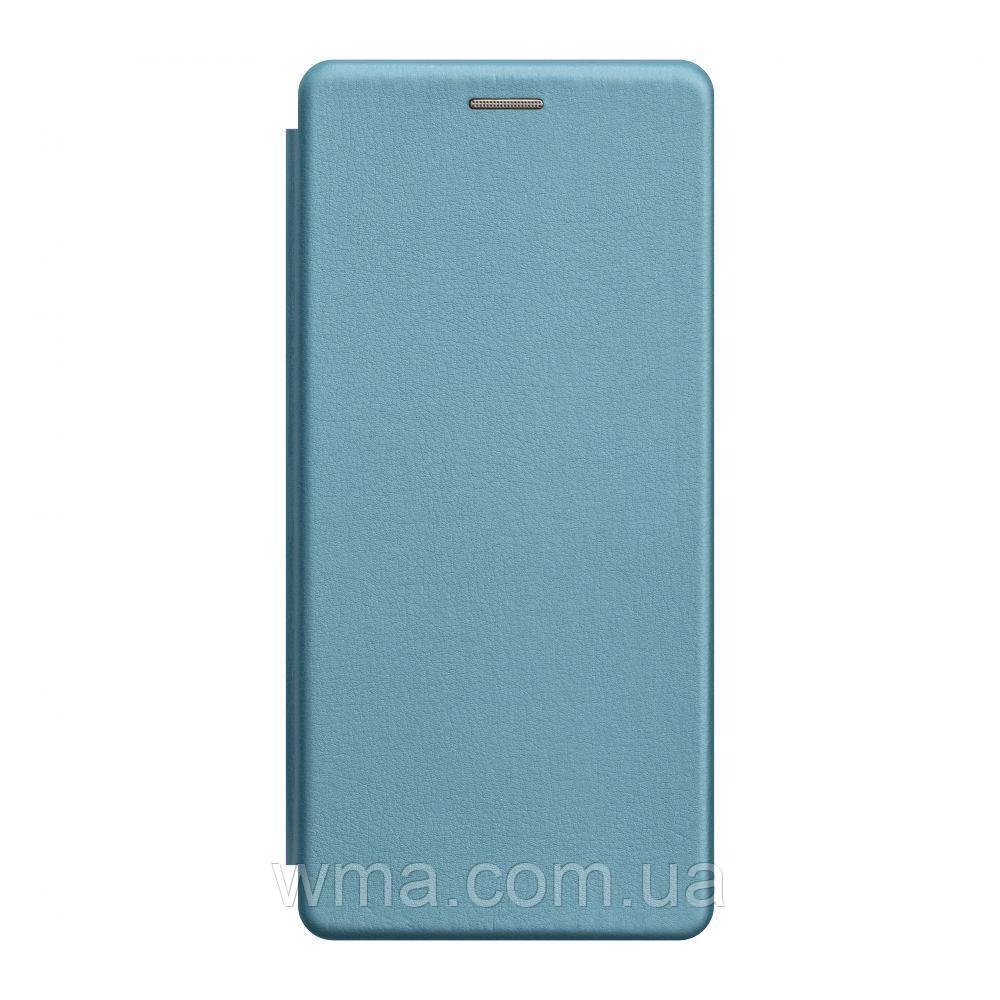 Чохол-книжка шкіра Samsung S20 Ultra 2020 Колір Блакитний