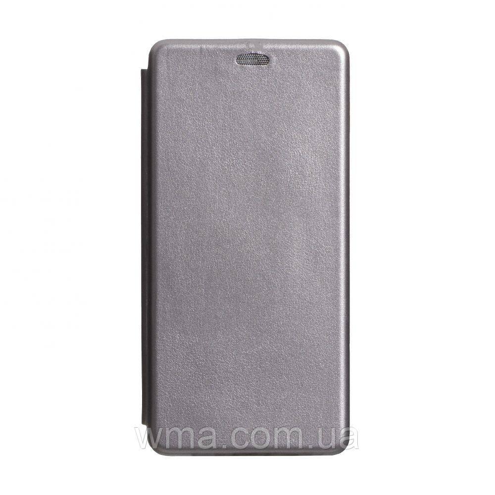 Чохол-книжка шкіра Samsung S20 Ultra 2020 Колір Сірий