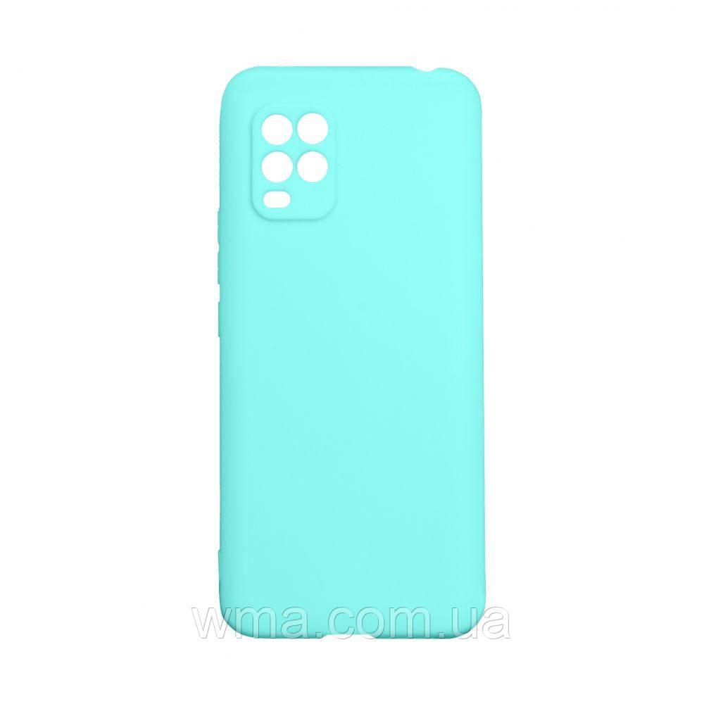 Чехол SMTT Xiaomi Mi 10 Lite Цвет Бирюзовый