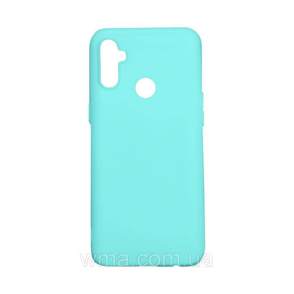 Чехол SMTT Realme C3 With finger Цвет Бирюзовый