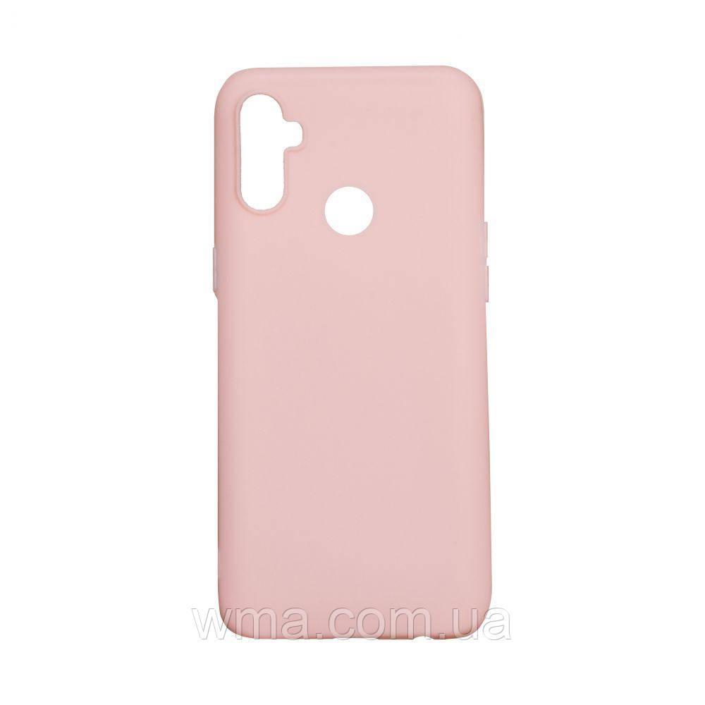Чехол SMTT Realme C3 With finger Цвет Розовый