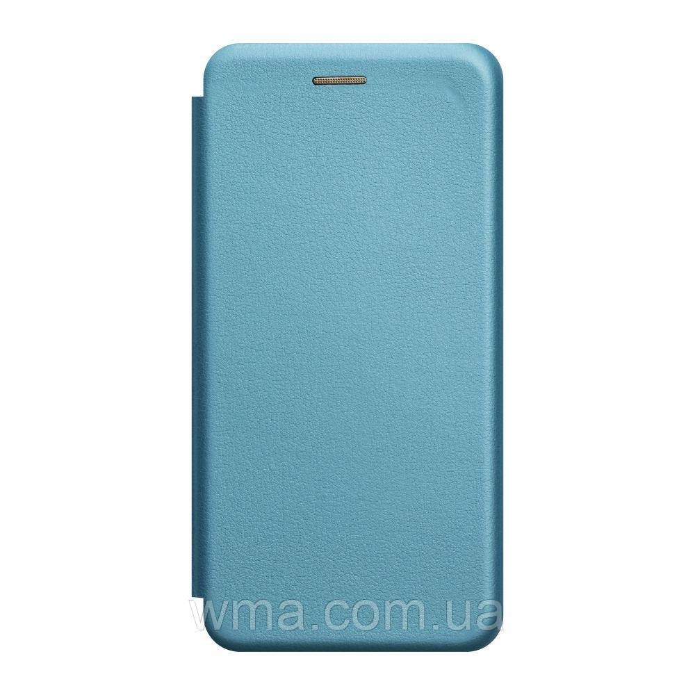 Чохол-книжка шкіра Xiaomi Mi 10 Колір Блакитний