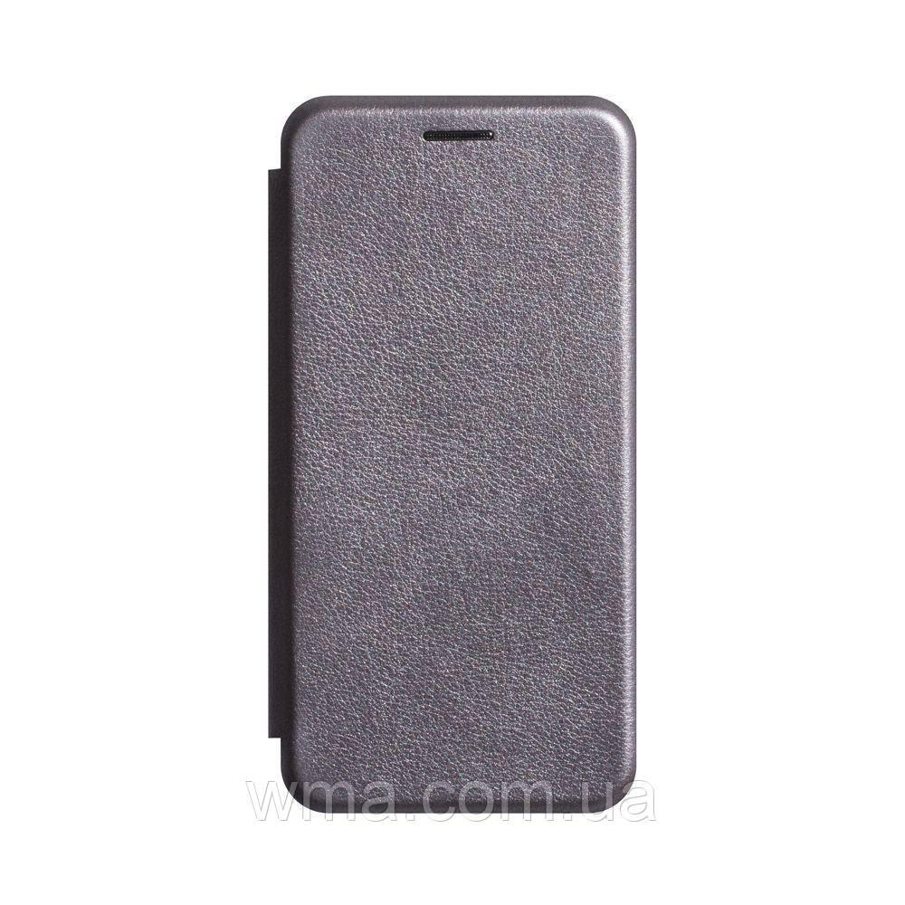 Чохол-книжка шкіра Xiaomi Redmi Go Колір Сірий