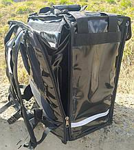 Раскладной рюкзак для еды, пиццы 42*42, напитков. Раскладная сумка доставки еды, пиццы, суши. ПВХ. Каркас