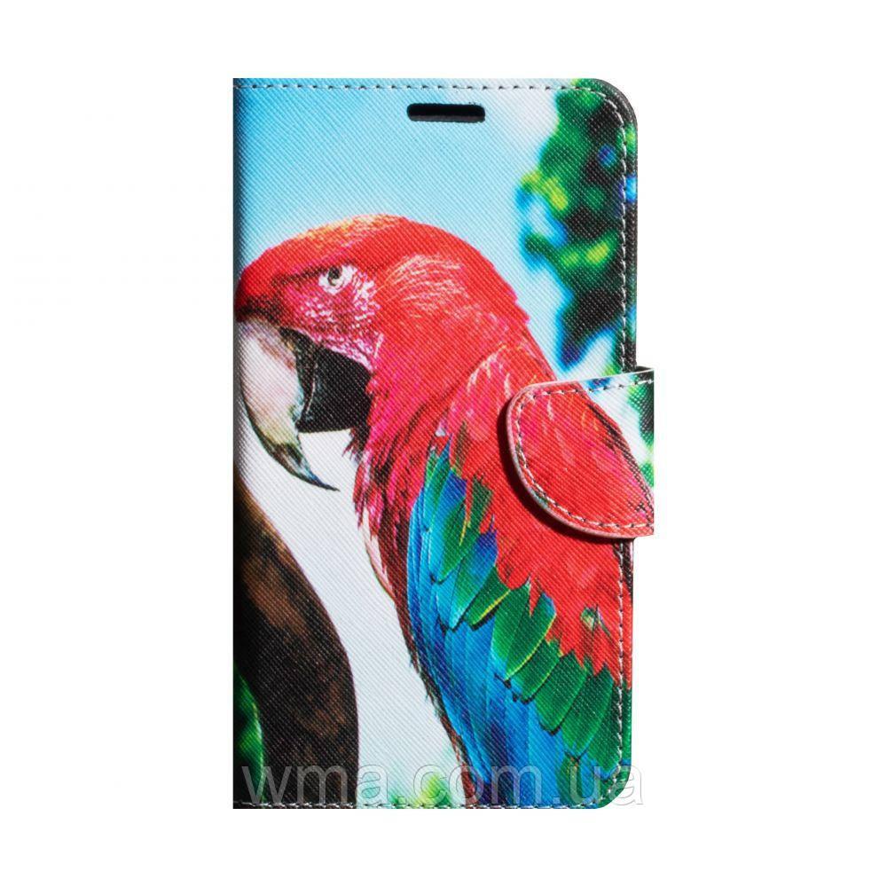 """Чохол-книжка Trend Pictures 5,5"""" Колір Папуга"""