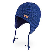 Демисезонная шапка для новорожденного мальчика TuTu 3-005670 (34-38, 38-42)