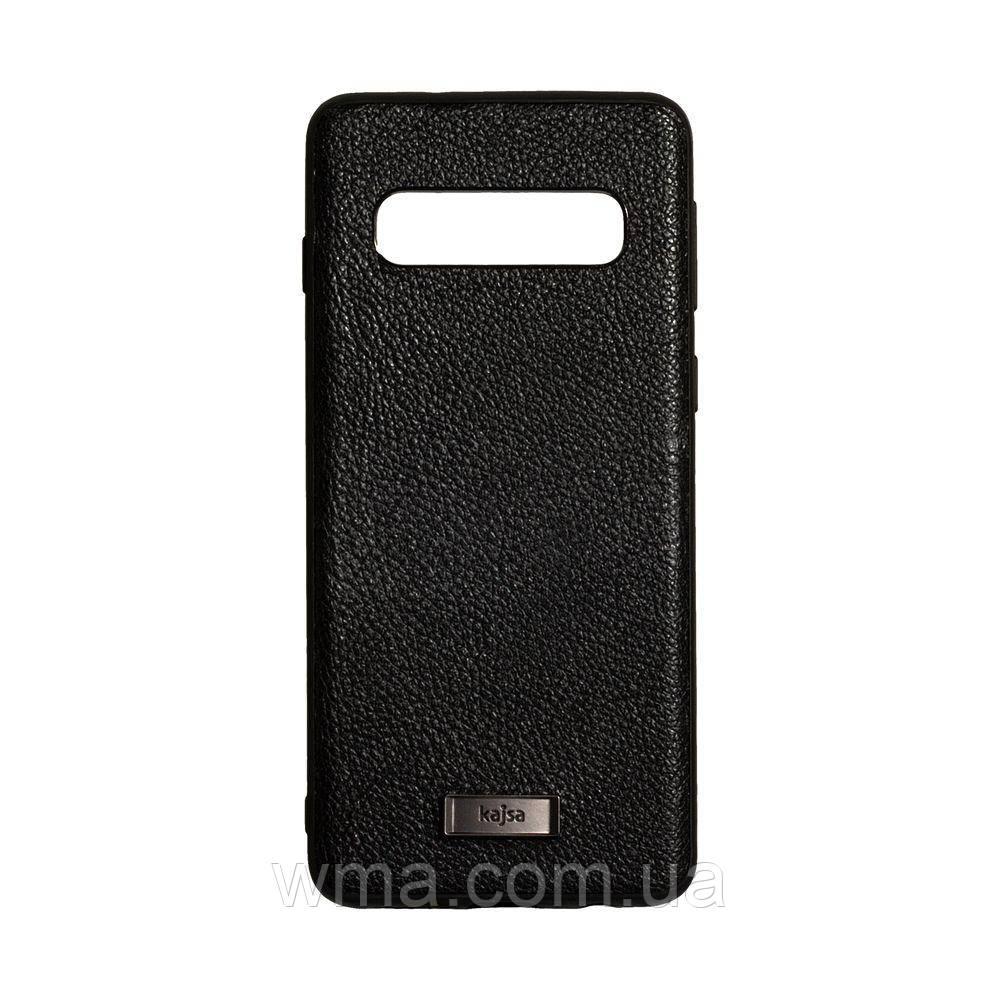 Чехол Kajsa Luxe for Samsung S10 Цвет Чёрный