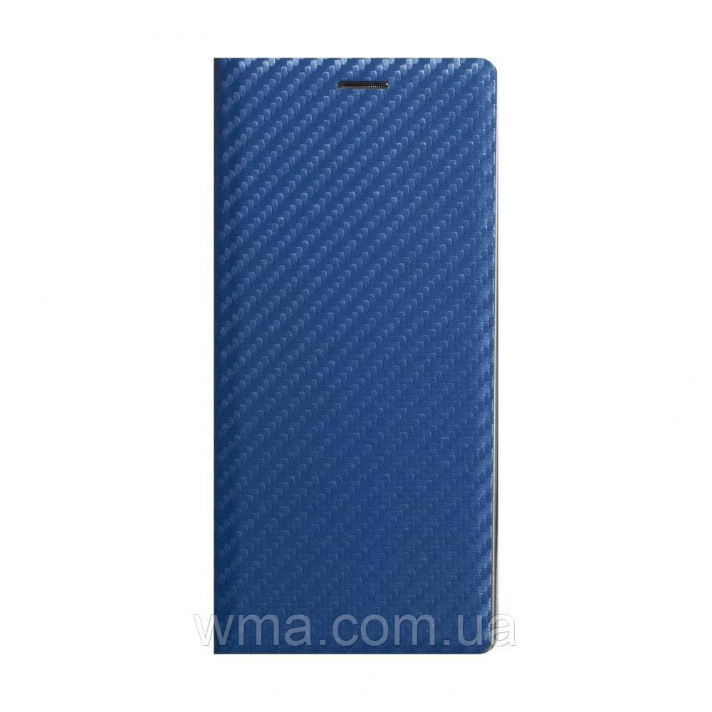 Чохол-книжка Carbon for Xiaomi Mi 10 / 10 Pro Колір Синій
