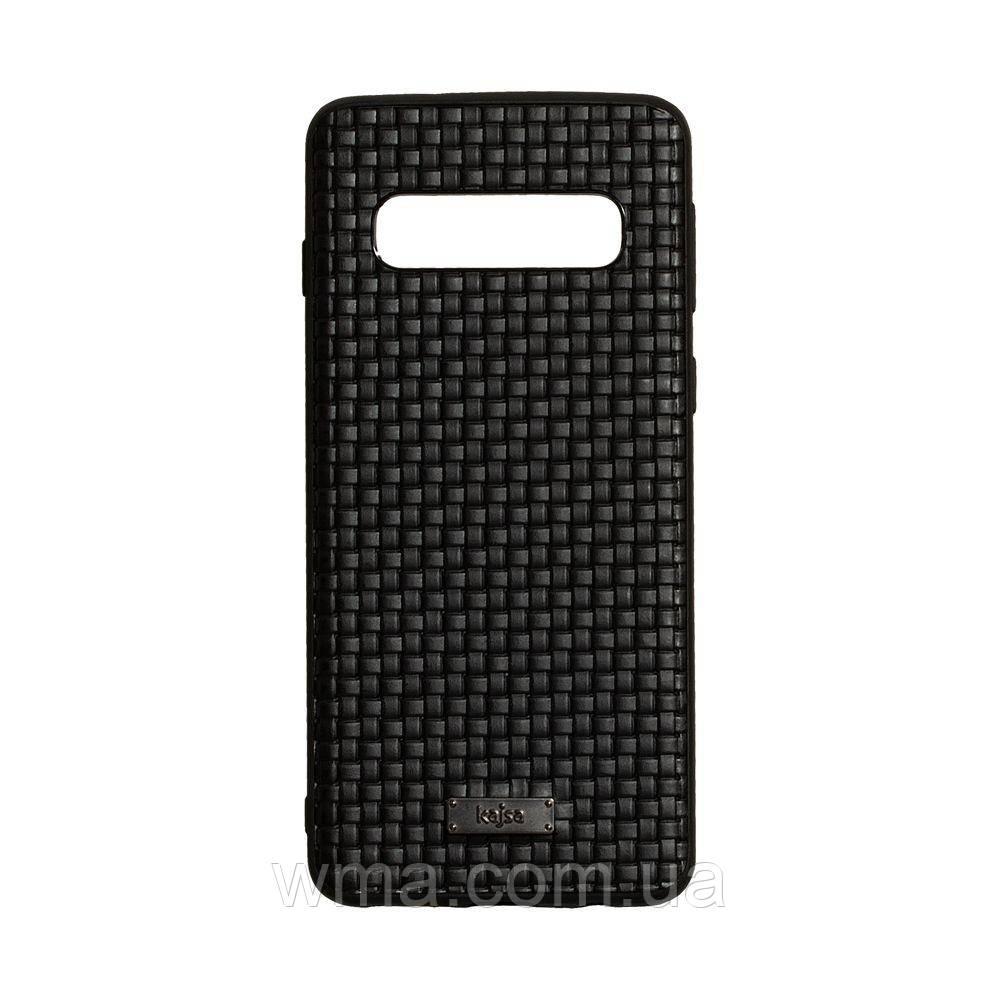 Чехол Kajsa Grass for Samsung S10 Цвет Чёрный