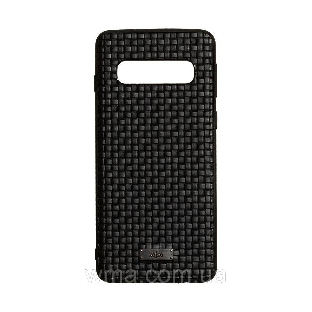 Чохол Kajsa Grass for Samsung S10 Колір Чорний