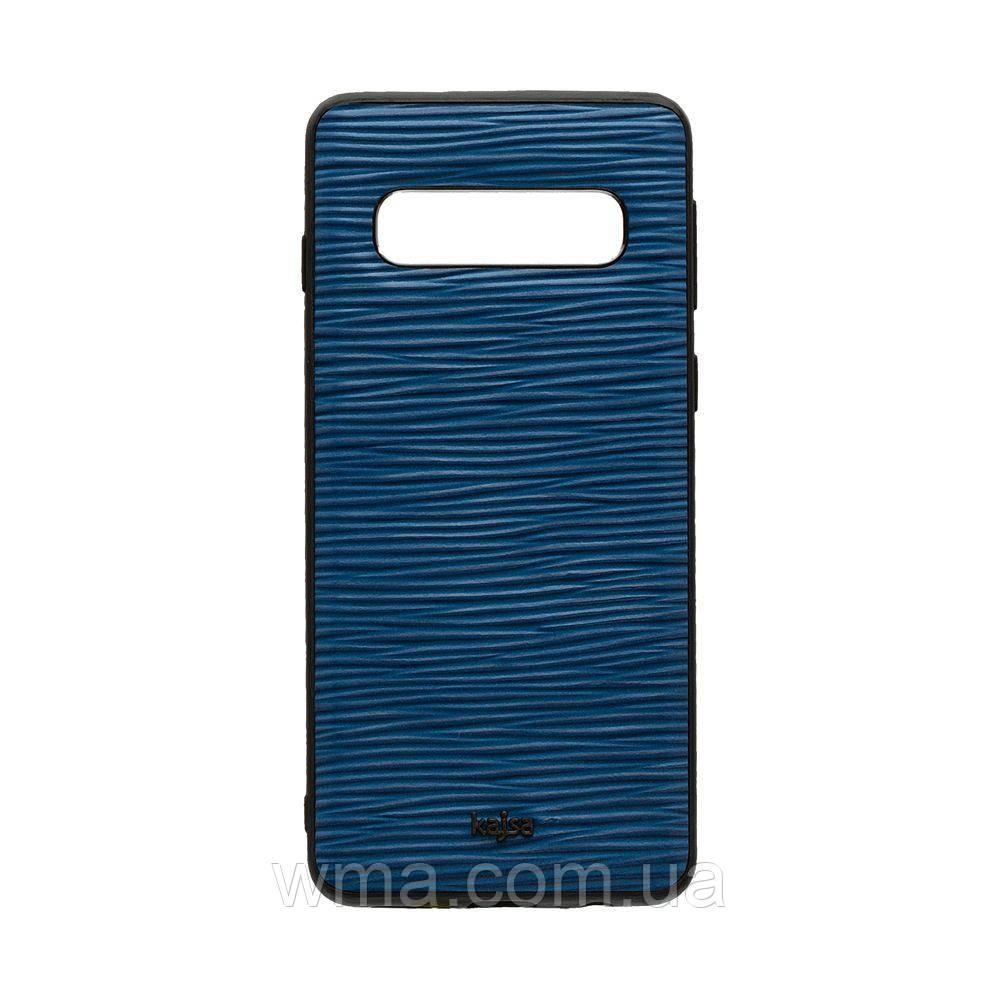 Чохол Kajsa Wave for Samsung S10 Колір Синій