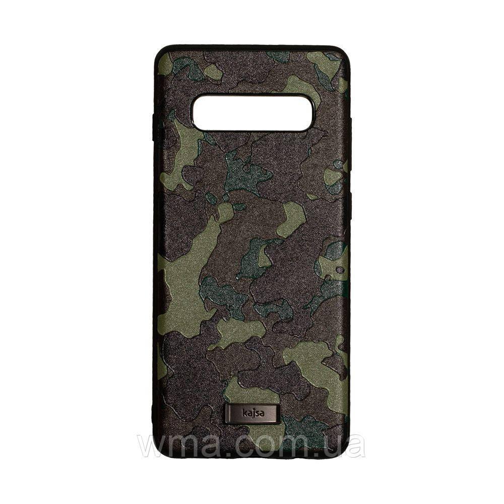 Чохол Kajsa Military for Samsung S10 Plus Колір Зелений