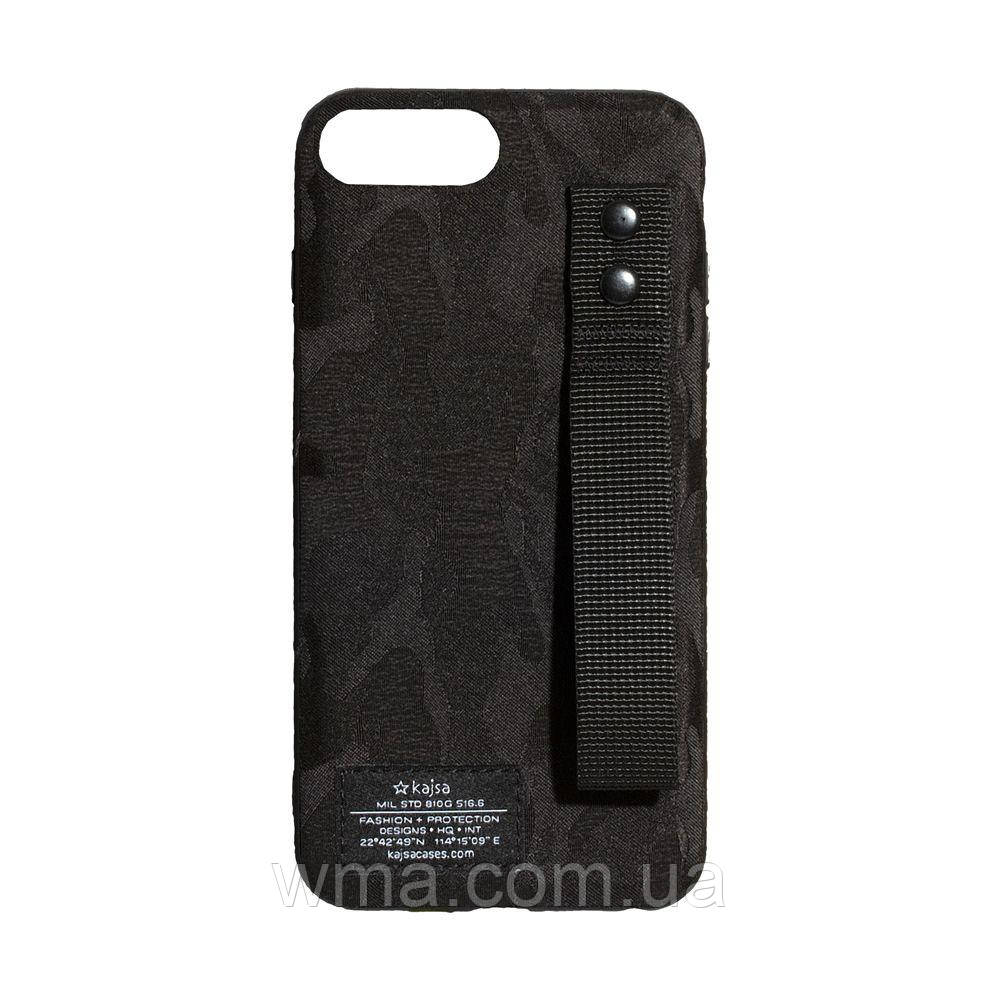Чехол Kajsa Camo for Apple Iphone 8 Plus Цвет Чёрный