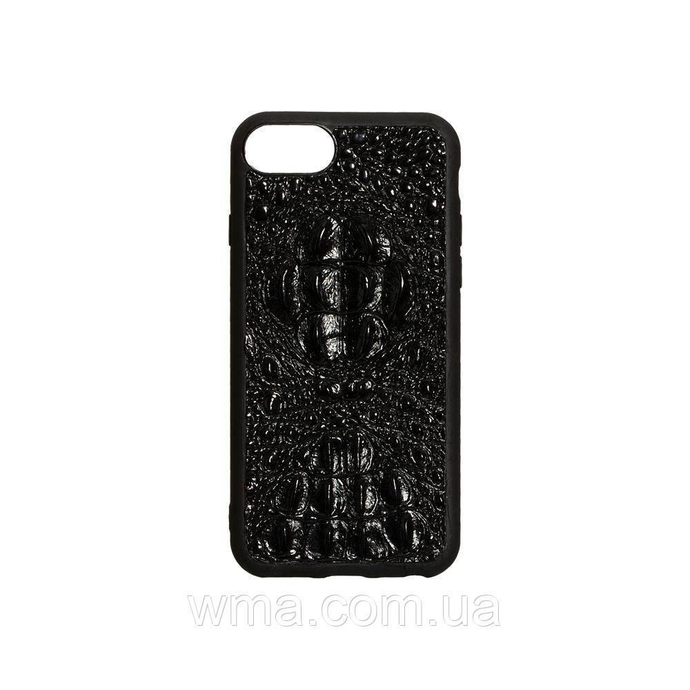 Чехол Genuine Leather Horsman for Apple Iphone 8G Цвет Чёрный