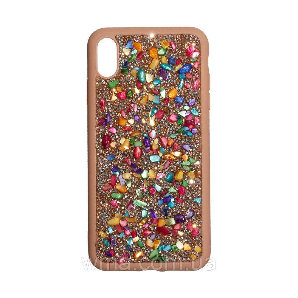 Чохол Bling World Stone for Apple Iphone Xs Max Колір Градієнтний Рожевий