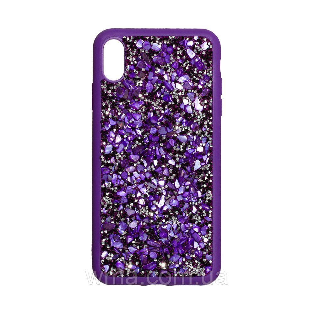 Чехол Bling World Stone for Apple Iphone Xs Max Цвет Фиолетовый